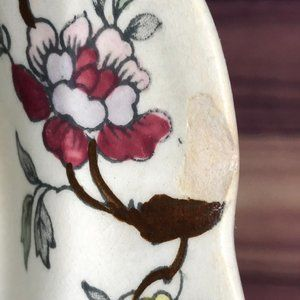 """Vintage Dining - Vntg Booths """"Chinese Tree"""" A8001 Shallow Bowl"""